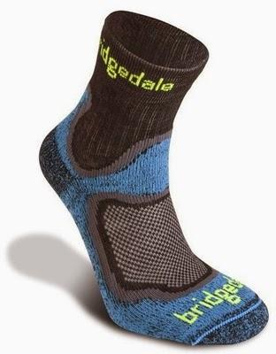 Pokračování recenze ponožek Bridgedale CoolFusion™ RUN Speed Trail